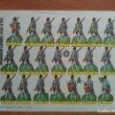 Coleccionismo Recortables: RECORTABLE GRANADEROS ESPAÑOL S XVIII. Lote 160847630