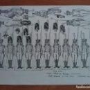 Coleccionismo Recortables: RECORTABLE : FOTOCOPIA SOLDADOS STRASBOURG - 1890. Lote 160867614