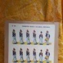 Coleccionismo Recortables: 6 GRANDES RECORTABLES ANTIGUOS DE SOLDADOS. Lote 160933677