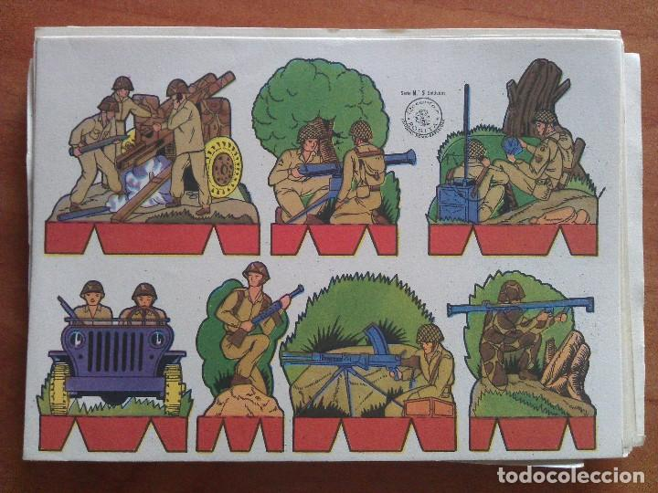 RECORTABLE SOLDADOS - ROSITA Nº 5 (Coleccionismo - Recortables - Soldados)