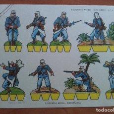 Collezionismo Figurine da Ritagliare: RECORTABLE SOLDADOS - ASTRO Nº 3. Lote 205084868