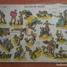 Collezionismo Figurine da Ritagliare: RECORTABLE SECCIÓN DE ENLACE - GRAN ILUSIÓN Nº 4 / LA TIJERA. Lote 223475181