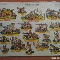 Coleccionismo Recortables: RECORTABLE ARMAS LIGERAS - GRAN ILUSIÓN Nº 3 / LA TIJERA. Lote 223475127