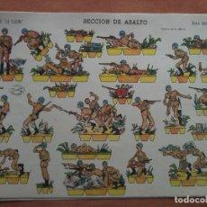 Coleccionismo Recortables: RECORTABLE SECCIÓN DE ASALTO - GRAN ILUSIÓN Nº 1 / LA TIJERA. Lote 223474985