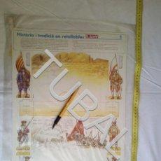 Coleccionismo Recortables: TUBAL SITIO DE BARCELONA 1714 RECORTABLE EL LLAMP. Lote 161824166