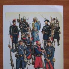 Coleccionismo Recortables: RECORTABLE SOLDADOS ( FOTOCOPIA). Lote 162648698