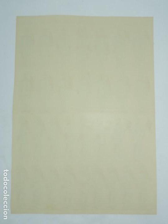 Coleccionismo Recortables: RECORTABLE ESTAMPERIA ECONOMICA DE PALUZIE, EJERCITO ESPAÑOL, LANCEROS, PIE A TIERRA, LAMINA Nº 231, - Foto 2 - 171166602