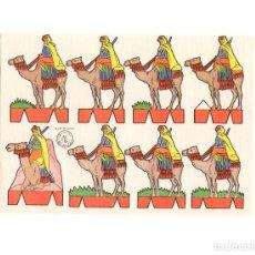 Coleccionismo Recortables: LAMINA RECORTABLES. ROSITA. EDITORIAL ROMA SERIE Nº 8. SOLDADOS. 17,5X12 CM. Lote 171496342