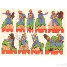 Coleccionismo Recortables: LAMINA RECORTABLES. ROSITA. EDITORIAL ROMA SERIE Nº 3. SOLDADOS. 17,5X12 CM. Lote 171497255