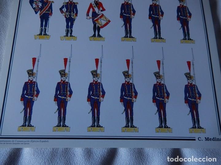 Coleccionismo Recortables: Recortables. España 1808. C. Medina. Departamento de comunicación (Ejército Español). 1998. - Foto 5 - 172409458