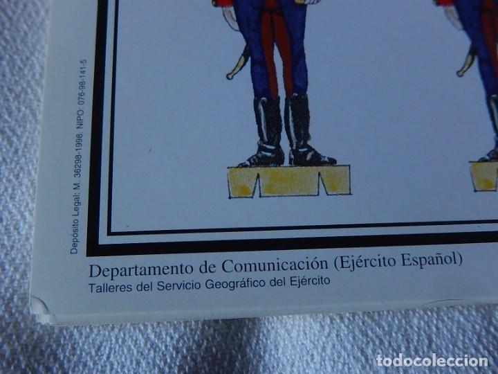Coleccionismo Recortables: Recortables. España 1808. C. Medina. Departamento de comunicación (Ejército Español). 1998. - Foto 6 - 172409458