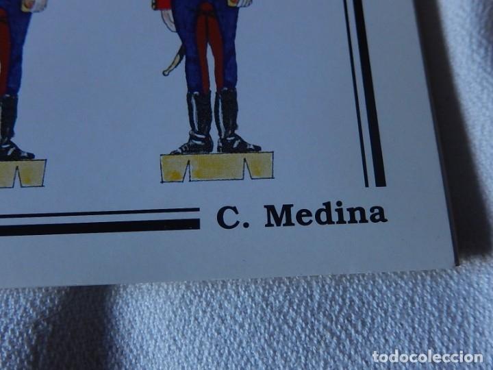 Coleccionismo Recortables: Recortables. España 1808. C. Medina. Departamento de comunicación (Ejército Español). 1998. - Foto 7 - 172409458