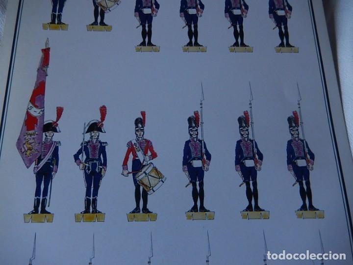Coleccionismo Recortables: Recortables. España 1808. C. Medina. Departamento de comunicación (Ejército Español). 1998. - Foto 12 - 172409458