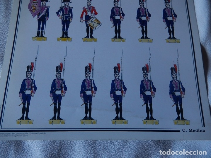 Coleccionismo Recortables: Recortables. España 1808. C. Medina. Departamento de comunicación (Ejército Español). 1998. - Foto 13 - 172409458