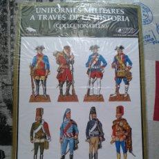 Coleccionismo Recortables: UNIFORMES MILITARES A TRAVÉS DE LA HISTORIA. CLIPER. MINOS. SERIE A-1. 1980. Lote 174064058