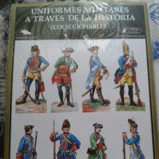 Coleccionismo Recortables: RECORTABLES UNIFORMES MILITARES A TRAVÉS DE LA HISTORIA. CLIPER. MINOS. SERIE A-3. 1980.. Lote 174064183