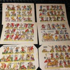 Coleccionismo Recortables: LOTE DE RECORTABLES SOLDADOS. Lote 174642022