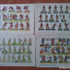 Coleccionismo Recortables: BRUGUERA . DIEZ RECORTABLES DISTINTOS. Lote 180466322