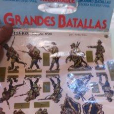 Coleccionismo Recortables: DOS LÁMINAS DE RECORTABLES EN SU FUNDA ORIGINAL GRANDES BATALLAS LEGIONARIOS Y RIFEÑOS. Lote 175287255