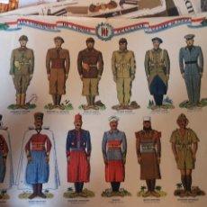 Coleccionismo Recortables: RECORTABLES DE LOS UNIFORMES DE LA ARMADA FRANCESA EN LA GUERRA DE 1939. Lote 175474202