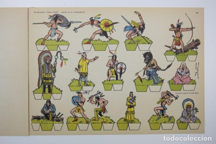 Coleccionismo Recortables: RECORTABLES TORAY - GRUPO 11 OESTE 2º AÑO 1962 - 8 LÁMINAS - Foto 5 - 175627647