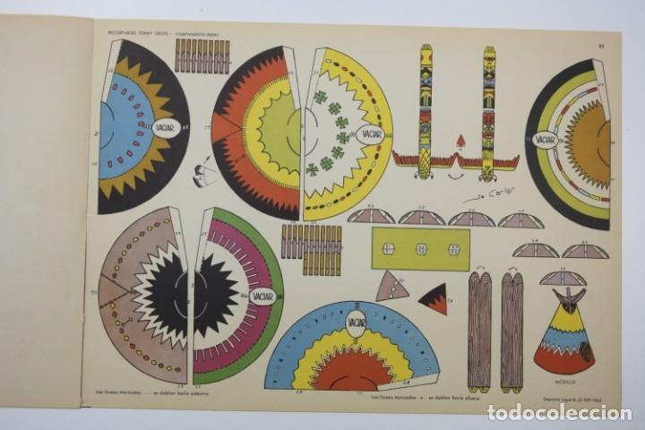 Coleccionismo Recortables: RECORTABLES TORAY - GRUPO 11 OESTE 2º AÑO 1962 - 8 LÁMINAS - Foto 6 - 175627647