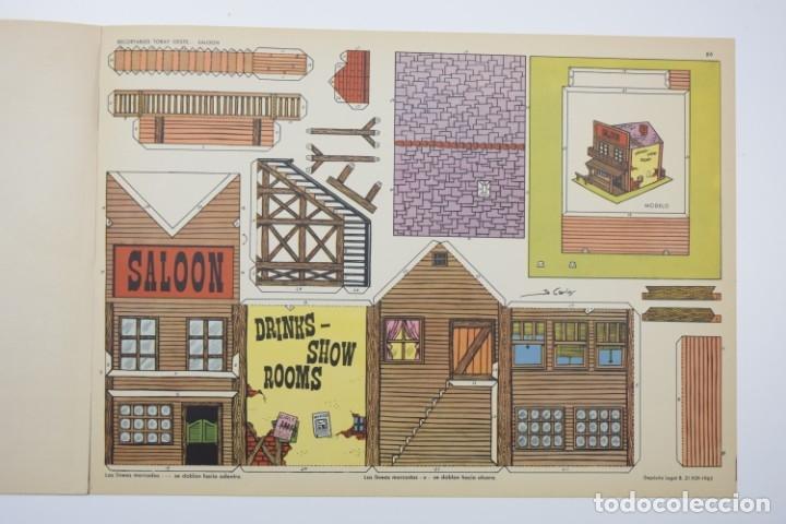 Coleccionismo Recortables: RECORTABLES TORAY - GRUPO 11 OESTE 2º AÑO 1962 - 8 LÁMINAS - Foto 7 - 175627647