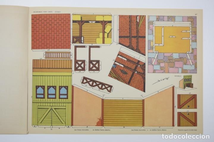 Coleccionismo Recortables: RECORTABLES TORAY - GRUPO 11 OESTE 2º AÑO 1962 - 8 LÁMINAS - Foto 8 - 175627647