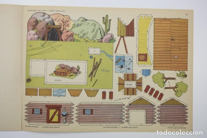 Coleccionismo Recortables: RECORTABLES TORAY - GRUPO 11 OESTE 2º AÑO 1962 - 8 LÁMINAS - Foto 9 - 175627647