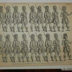 Colecionismo Recortáveis: ANTIGUO RECORTABLE REDINGTON'S NEW FOOT SOLDIERS. NO. 4, EDITÉ PAR LONDON: J. REDINGTON 73 HOXTON ST. Lote 175742223