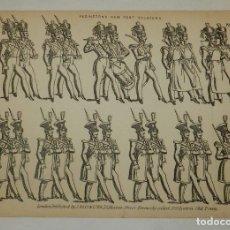 Colecionismo Recortáveis: ANTIGUO RECORTABLE REDINGTON'S NEW FOOT SOLDIERS. NO. 9, EDITÉ PAR LONDON: J. REDINGTON 73 HOXTON ST. Lote 175742659