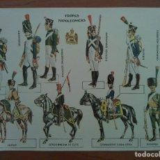 Coleccionismo Recortables: RECORTABLE TROPAS NAPOLEÓNICAS. Lote 177858982