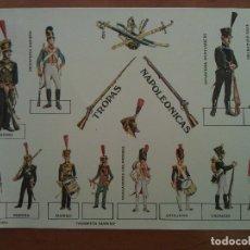 Coleccionismo Recortables: RECORTABLE TROPAS NAPOLEÓNICAS. Lote 177859058