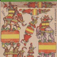 Coleccionismo Recortables: RECORTABLES LEGIONES ROMANAS AÑO 1960. Lote 180016138