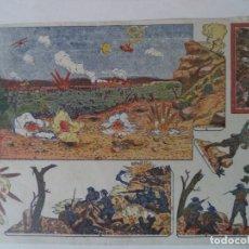 Coleccionismo Recortables: CONSTRUCCIONES EL NIÑO COLECCION 10 Nº 96 DIORAMA DE GUERRA. Lote 180455310