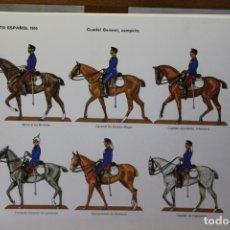 Coleccionismo Recortables: RECORTABLES EJÉRCITO ESPAÑOL 1910, INFANTERÍA DE LÍNEA. Lote 181084607