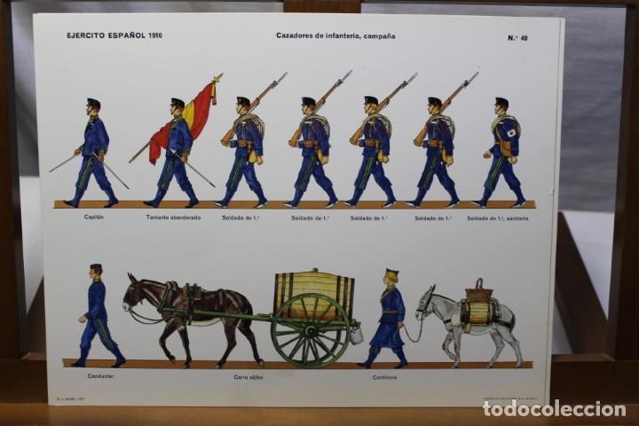Coleccionismo Recortables: RECORTABLES , EJÉRCITO ESPAÑOL 1910 CAZADORES DE INFANTERÍA - Foto 3 - 181085052