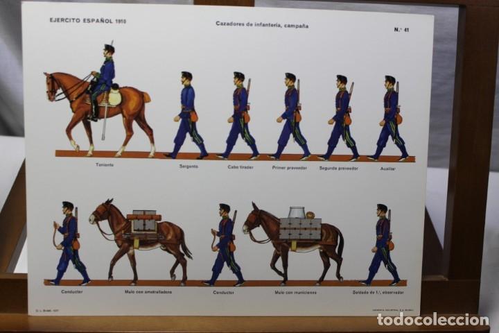 Coleccionismo Recortables: RECORTABLES , EJÉRCITO ESPAÑOL 1910 CAZADORES DE INFANTERÍA - Foto 4 - 181085052