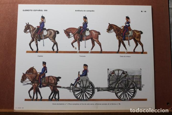 Coleccionismo Recortables: RECORTABLES , EJÉRCITO ESPAÑOL 1910 ARTILLERÍA DE CAMPAÑA - Foto 3 - 181085636
