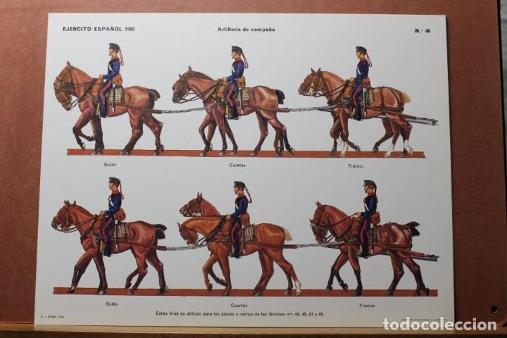 Coleccionismo Recortables: RECORTABLES , EJÉRCITO ESPAÑOL 1910 ARTILLERÍA DE CAMPAÑA - Foto 5 - 181085636