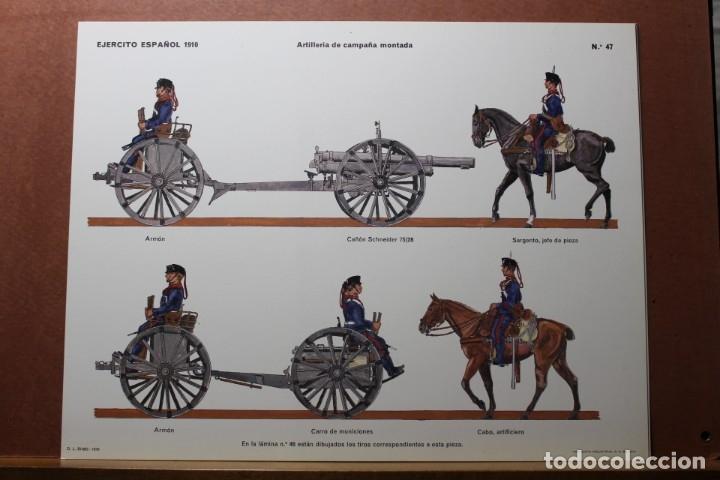 Coleccionismo Recortables: RECORTABLES , EJÉRCITO ESPAÑOL 1910 ARTILLERÍA DE CAMPAÑA - Foto 6 - 181085636