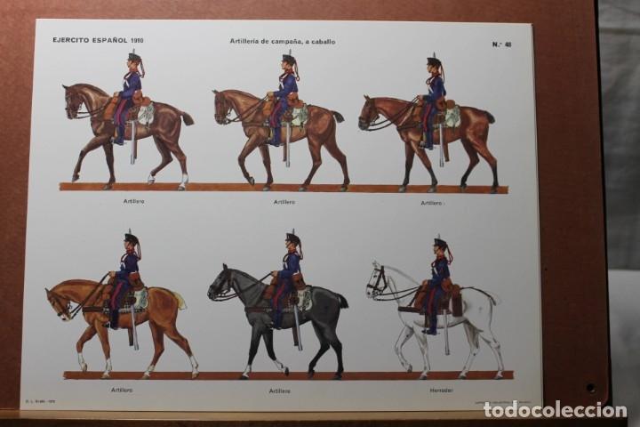 Coleccionismo Recortables: RECORTABLES , EJÉRCITO ESPAÑOL 1910 ARTILLERÍA DE CAMPAÑA - Foto 7 - 181085636