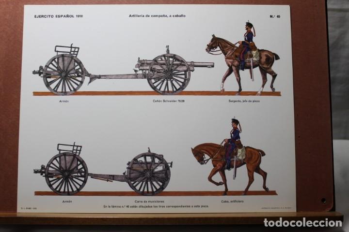 Coleccionismo Recortables: RECORTABLES , EJÉRCITO ESPAÑOL 1910 ARTILLERÍA DE CAMPAÑA - Foto 8 - 181085636
