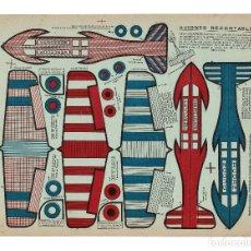 Coleccionismo Recortables: AVIONES RECORTABLES EN CARTÓN.. Lote 182829860