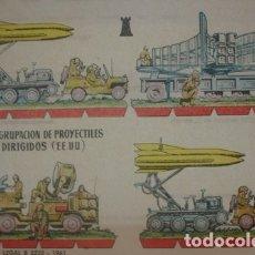 Coleccionismo Recortables: AGRUPACIÓN DE PROYECTILES DIRIGIDOS (EE.UU) 1961 - PORTAL DEL COL·LECCIONISTA *****. Lote 182986206