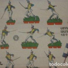 Coleccionismo Recortables: GRANADEROS ARGENTINOS DE 1815 - PORTAL DEL COL·LECCIONISTA *****. Lote 182986307