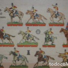 Coleccionismo Recortables: REALES GUARDIAS A CABALLO (INGLATERRA) 1961 - PORTAL DEL COL·LECCIONISTA *****. Lote 182986602