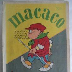 Coleccionismo Recortables: MACACO DEL 6-5-1928 CON INGLATERRA CORDOBA CRUCERO CERVANTES DRAGONES GALA. Lote 183270426