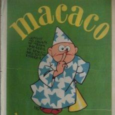 Coleccionismo Recortables: MACACO DEL 29-4 1928 CON GRECIA CANARIAS CRUCERO Mº EUGENIA DRAGONES GALA. Lote 183270968