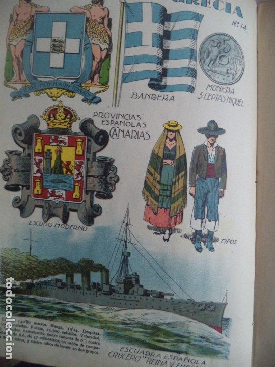 Coleccionismo Recortables: MACACO DEL 29-4 1928 CON GRECIA CANARIAS CRUCERO Mº EUGENIA DRAGONES GALA - Foto 2 - 183270968